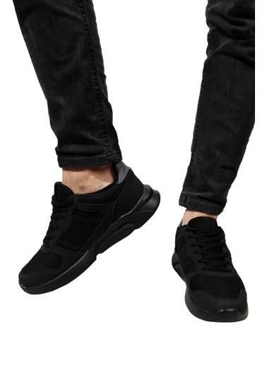 Derigo Siyah Siyah Erkek Spor Ayakkabı 703027 Siyah